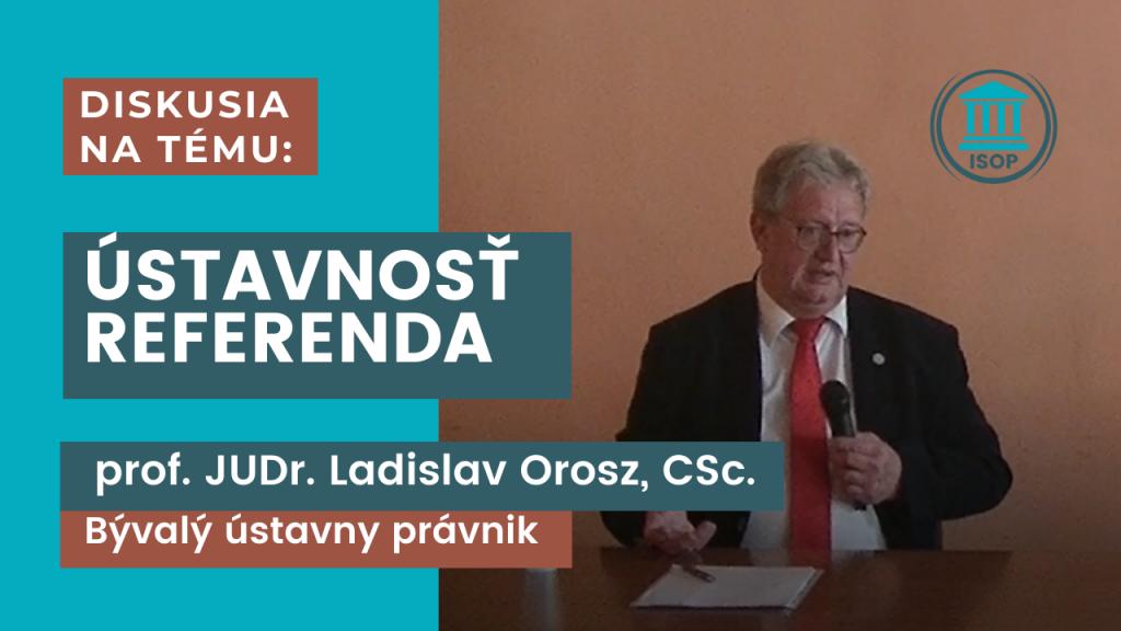 úvodný obrázok ku diskusii s profesorom Oroszom - ISOP